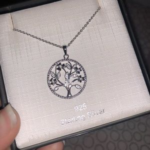 amor Jewelry - Amor Tree of Life Sterling Silver Necklace